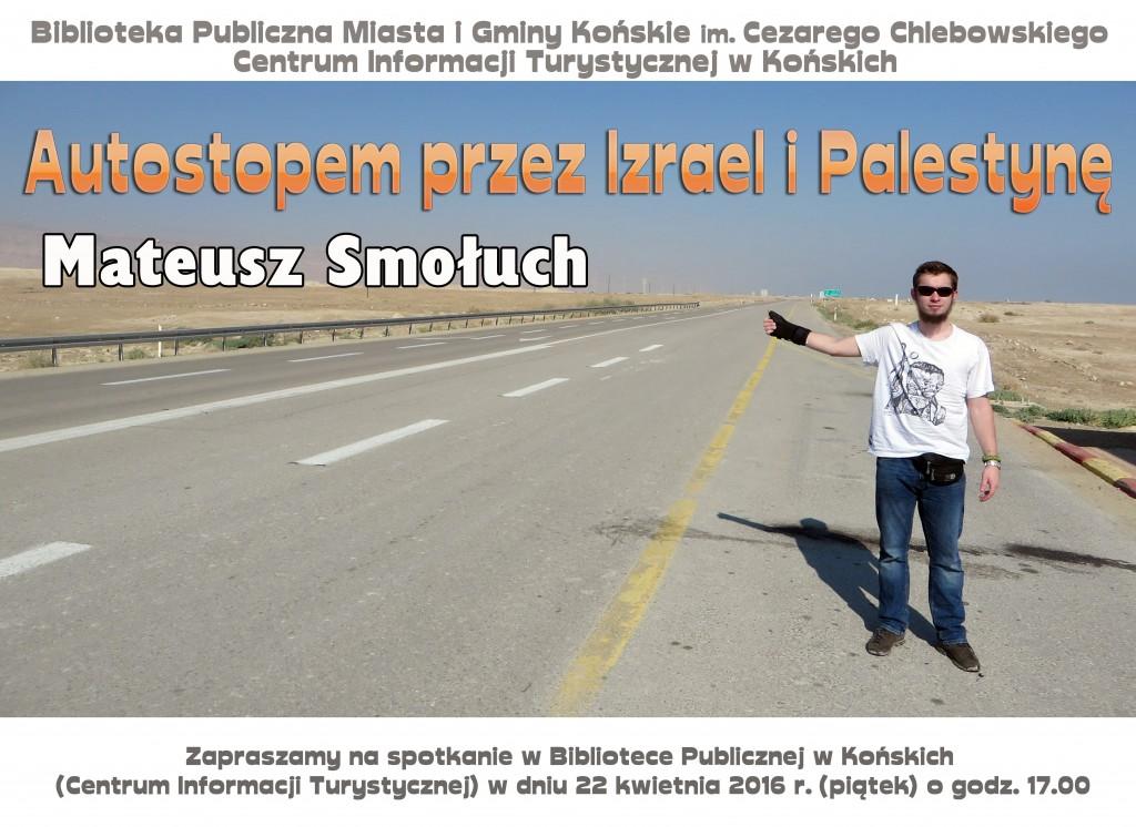 Autostopem przez Izrael i Palestynę plakat