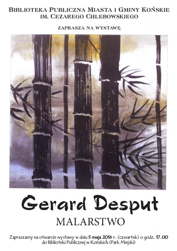 Gerard Desput Plakat