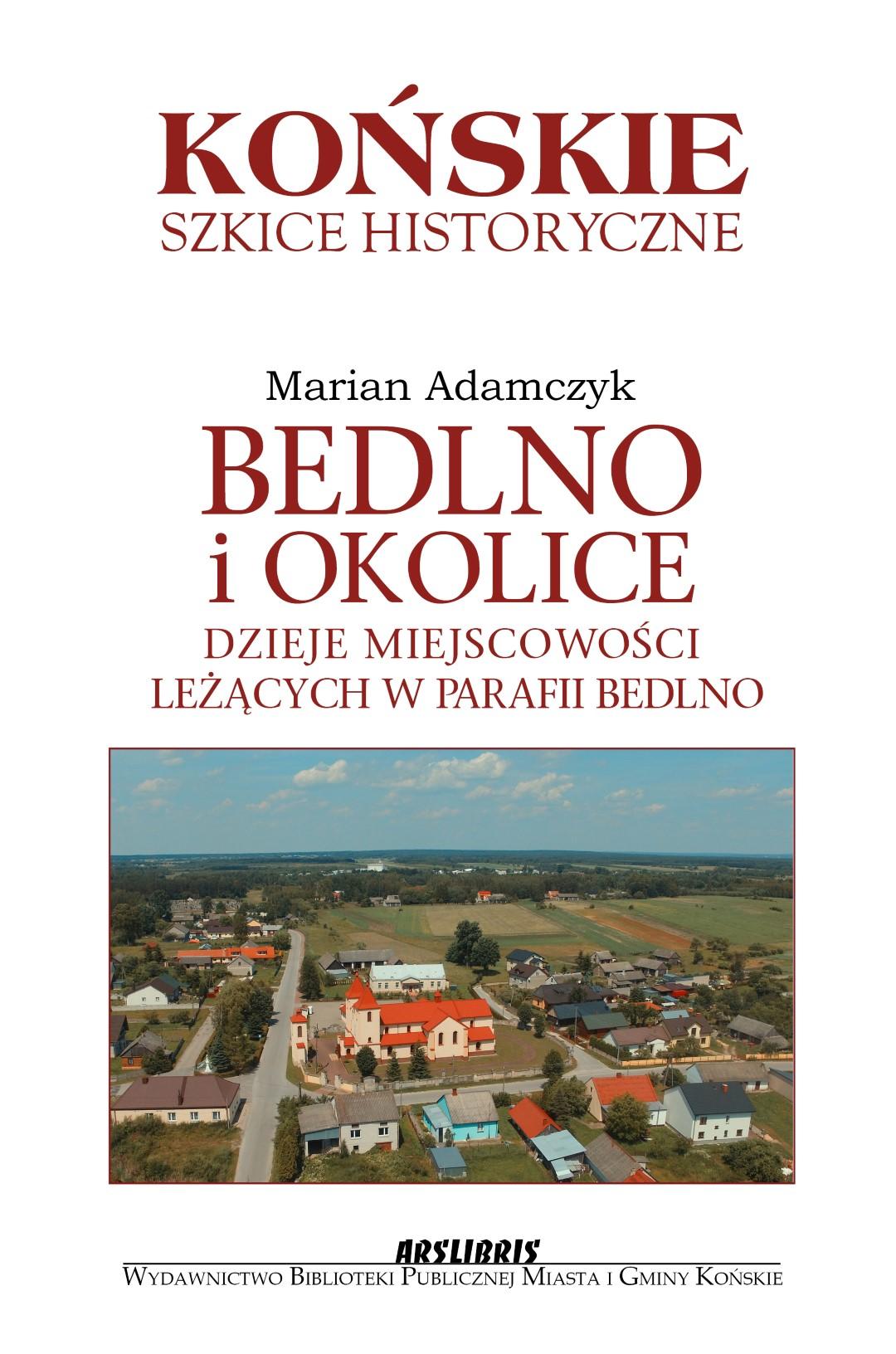 Okładka Adamczyk Bedlno (Large)
