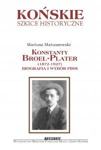 Okładka Szkice Broel-Platerowie
