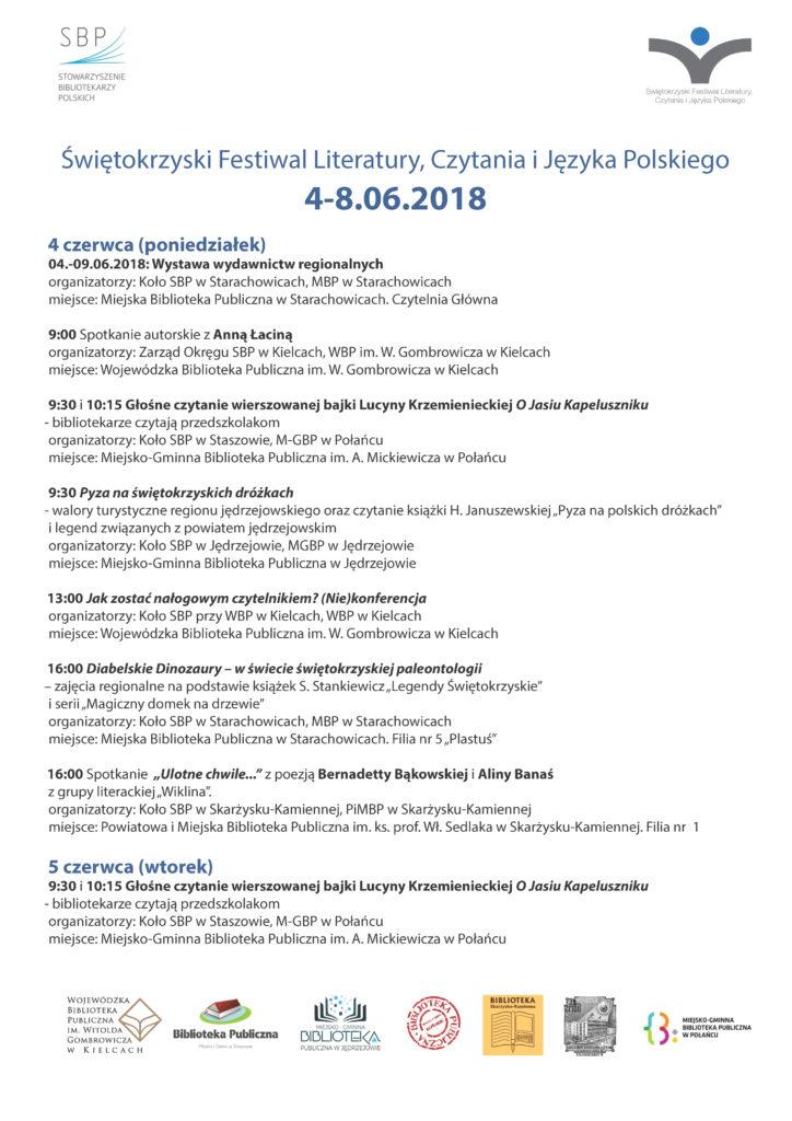 PROGRAM. świetokrzyski festiwal_Strona_1