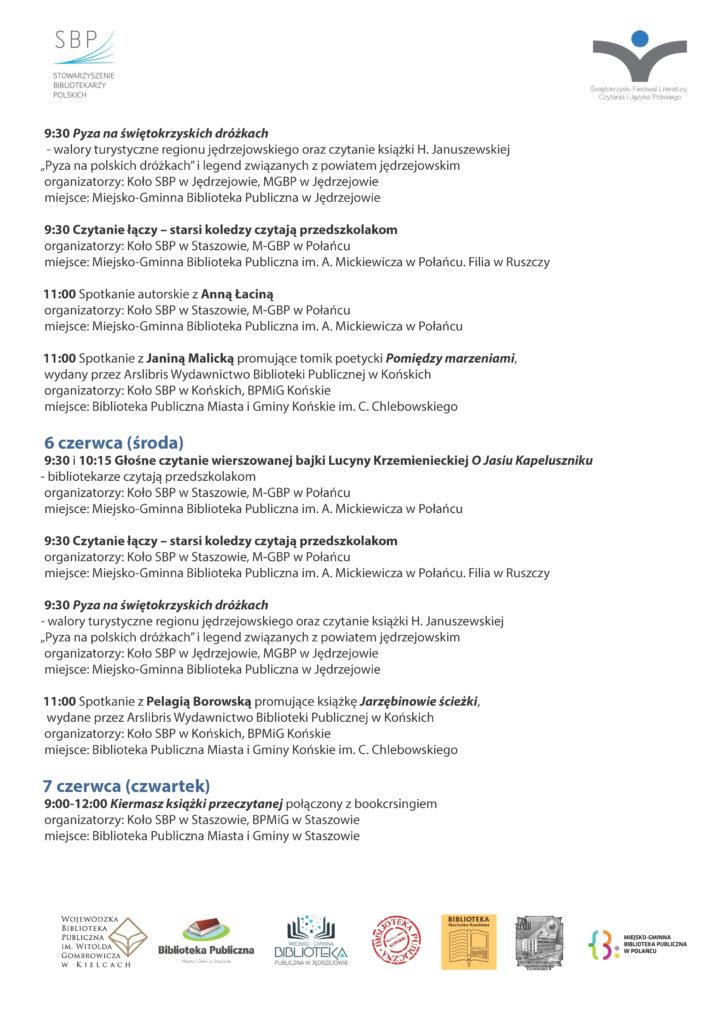 PROGRAM. świetokrzyski festiwal_Strona_2
