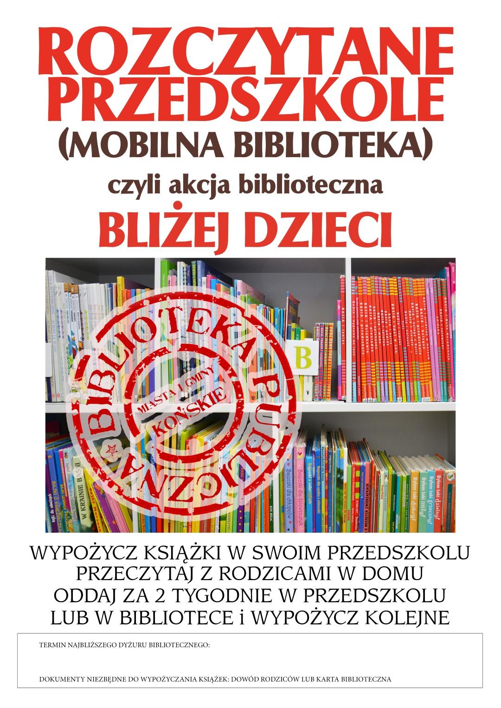 Plakat przedszkola (Large)