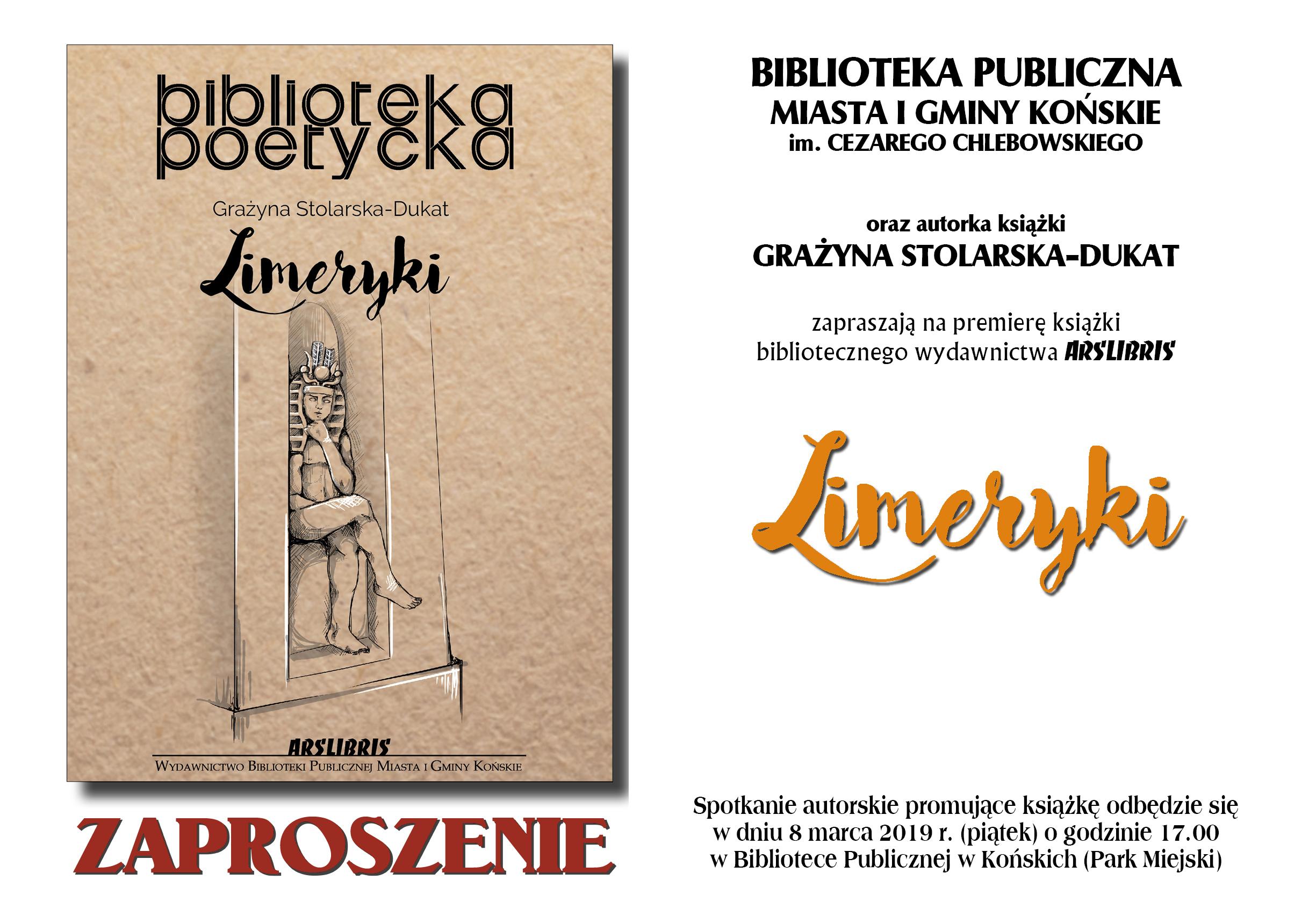 Zaproszenie Limeryki